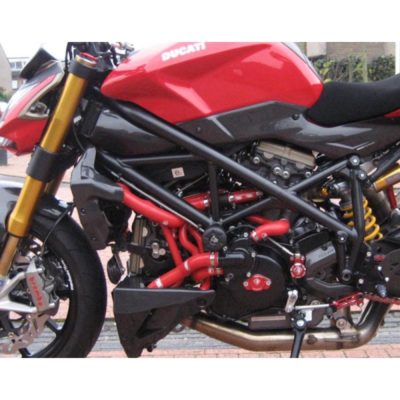 Ducati sreetfighter 1098//S 2009-2014 Samco Acier Inoxydable Clip Kit