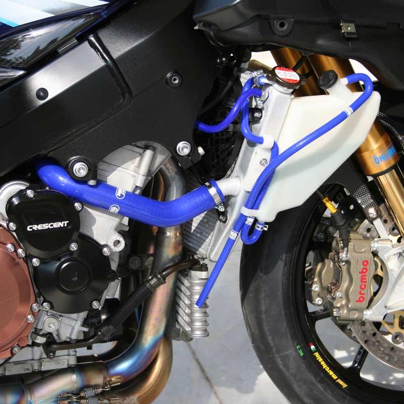 2005 2006 Suzuki GSXR 1000 GSXR1000 Accessories Silicone Radiator Hose Red 05 06