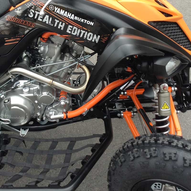 NEW ATV Yamaha Raptor 700 Silicone Radiator Hose Kit Red